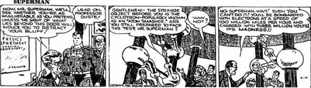 superman strip