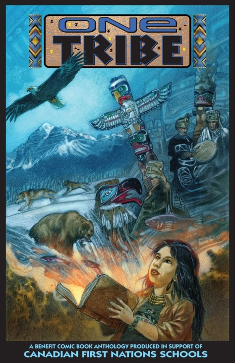 ONE TRIBE --- MARK A. NELSON - HARDCOVER - FINAL with logo, border & text #1