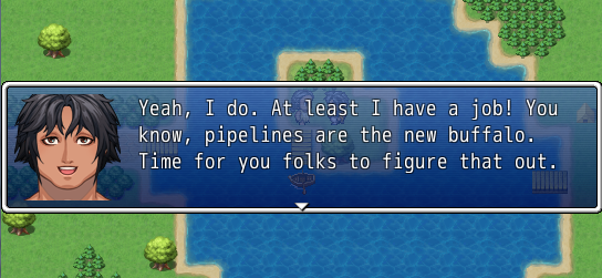 pipelines are the new buffalo
