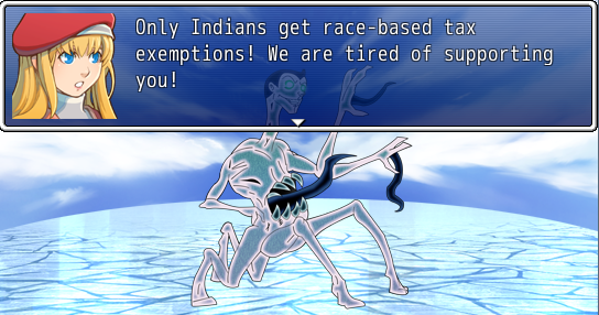 racist ice demon