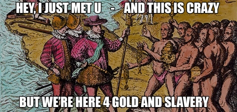 Goldandslavery meme