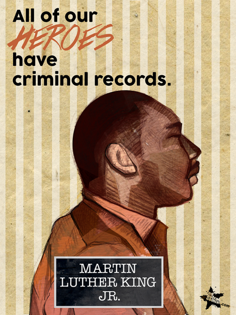 Martin Luther King, Jr. (Booking #:7089) MLK was an American pastor, activist, humanitarian, and leader in the African-American Civil Rights Movement. He is best known for his role in the advancement of civil rights using nonviolent civil disobedience based on his Christian beliefs. Arrested in 1962, 1963, and 1965 while demonstrating for civil rights in the American South.