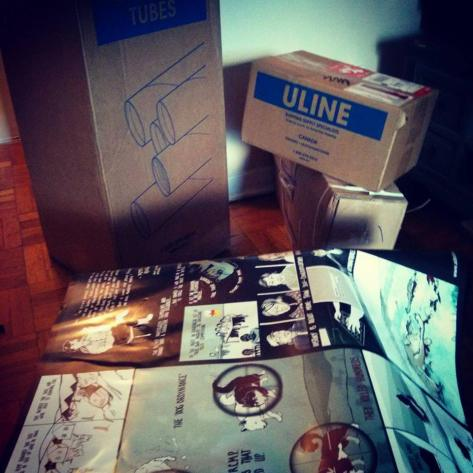 DOGS uline shipping containers
