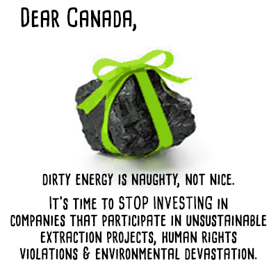 lump of coal w text