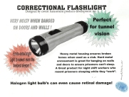 Correctional Flashlight