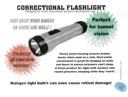 Correctional Flashlight