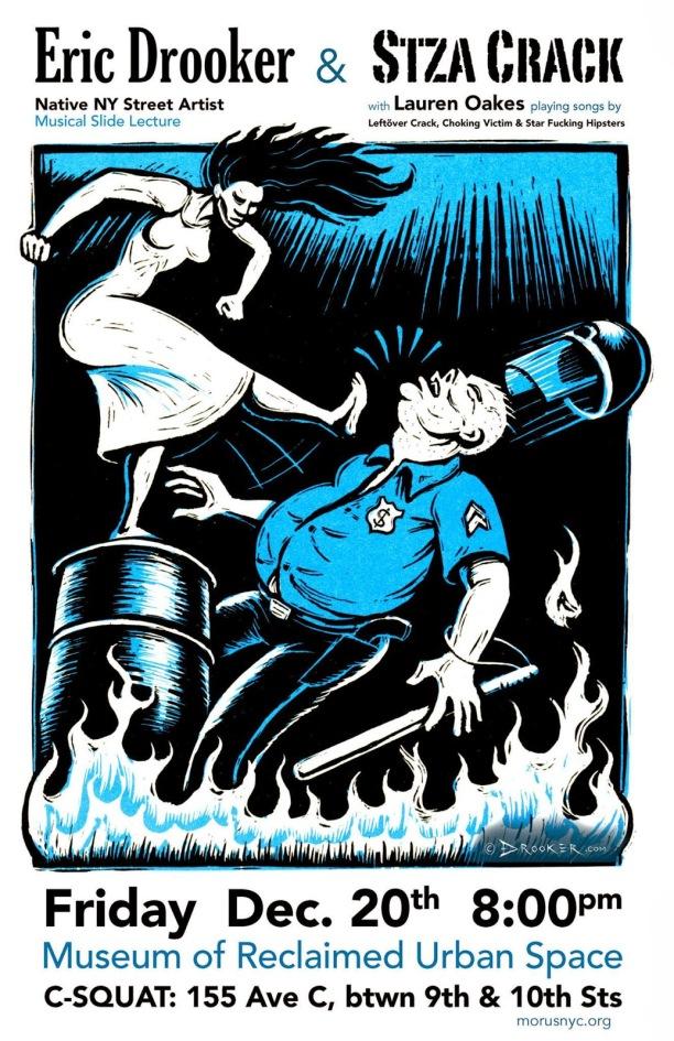eric drooker poster art